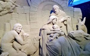 Sand nativity: presepe di sabbia a Jesolo