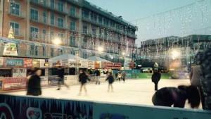 Pista pattinaggio sul ghiaccio a Jesolo 2015-2016