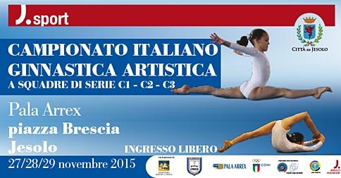 Campionato Italiano di Ginnastica Artistica a squadre 2015