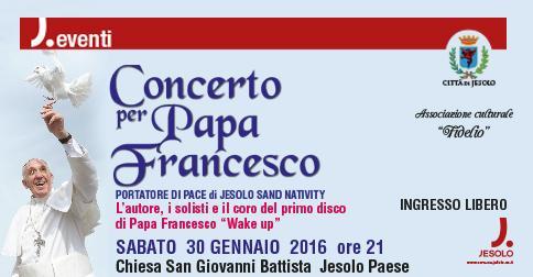 Concerto per Papa Francesco a Jesolo Paese