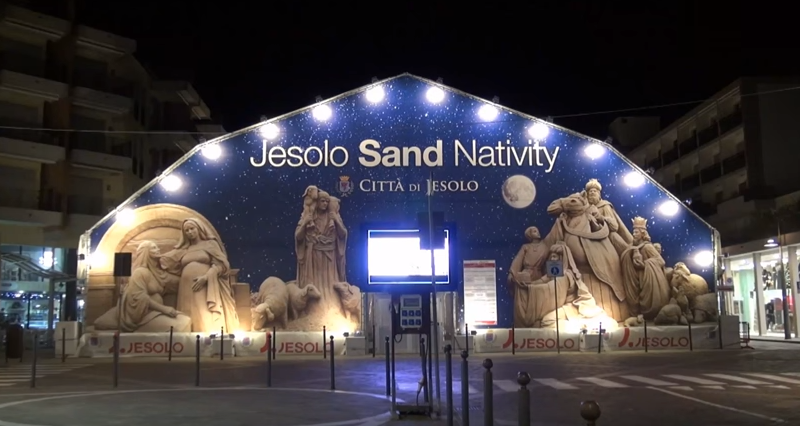 Sand Nativity Jesolo 2015-2016