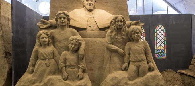 Sand Nativity 2015-2016