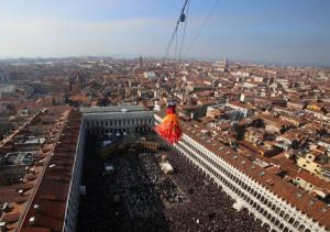 Volo dell'Angelo - Carnevale di Venezia 2016