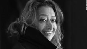 Ritratto di Zaha Hadid