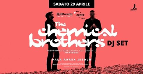 Chemical Brothers in concerto a Jesolo 2017