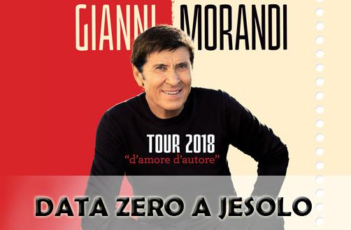 Gianni Morandi Tour 2018
