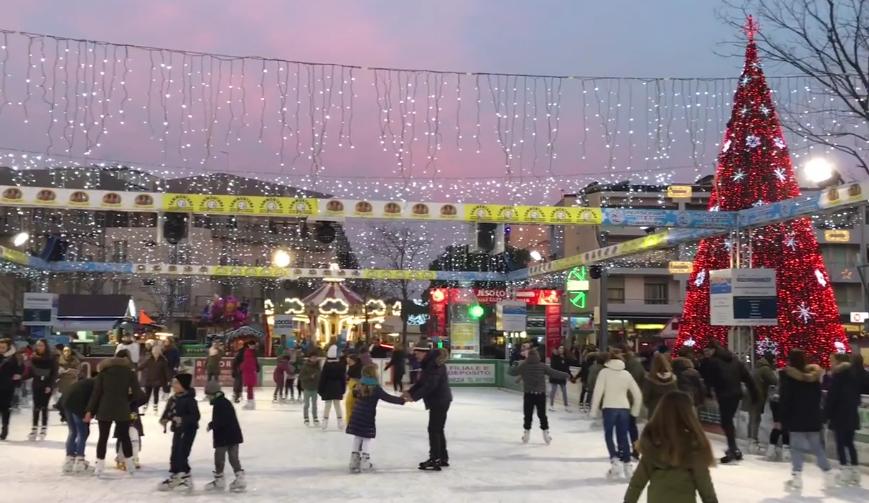 JesoloOnIce 2017 a Jesolo Lido - piazza Mazzini